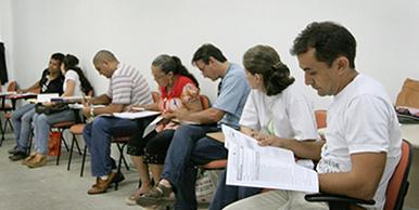 Em sala de aula, os ACS encerram a quarta e última fase do Curso Técnico, que tem 560 h/a.