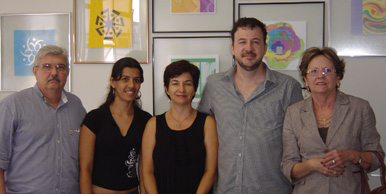 Paulo Marcelo Laranjeira Barrocas, Mychelle de Oliveira, Elisabete Ferrarezi, João Tomacheski e Virgínia Célia Santana.