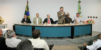 João Ananias destaca a participação de Arruda Bastos nas principais ações e projetos de sua gestão.