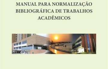 Capa do Manual para Normalização Bibliográfica