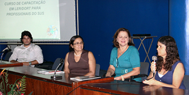 José Soares Filho, Fátima Duarte, Isabel Cavalcanti Carlos e Mirian Silvestre.