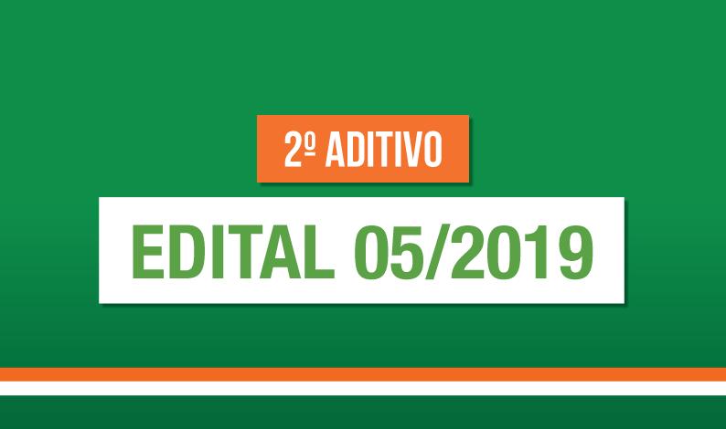 2º Aditivo Edital 05/2019