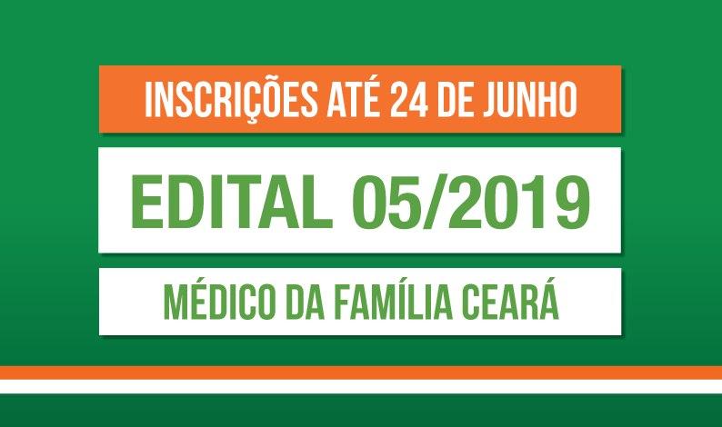 INSCRIÇÕES MÉDICO DA FAMÍLIA CEARÁ