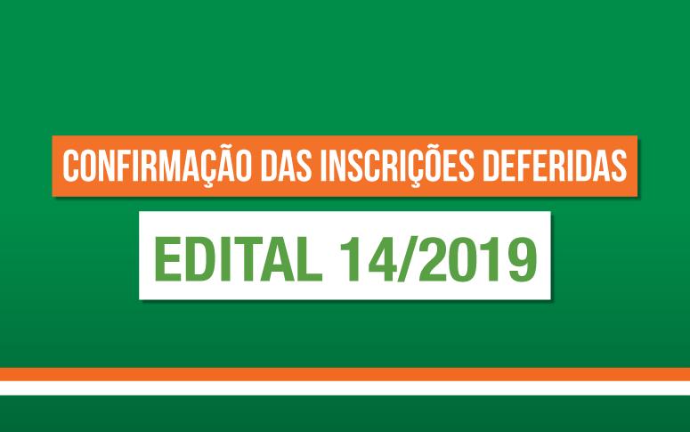 ESP/CE divulga inscrições deferidas do Edital 14/2019