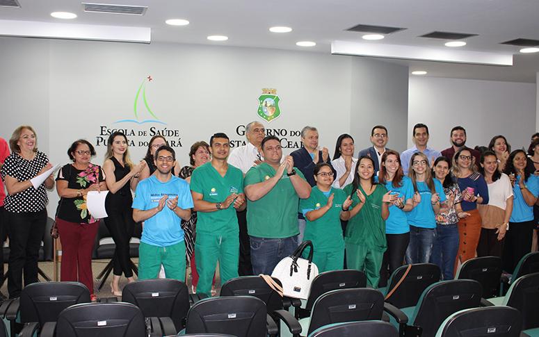 ESP/CE homenageia médicos emergencistas do Ceará