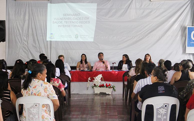 ACS de Quixadá discutem potências e vulnerabilidades sociais por meio de seminário