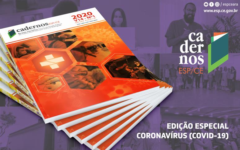 Edição especial da Cadernos ESP traz enfoque sobre o Coronavírus