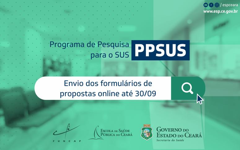 Chamada para programa de Pesquisa para o SUS recebe propostas até 30/09