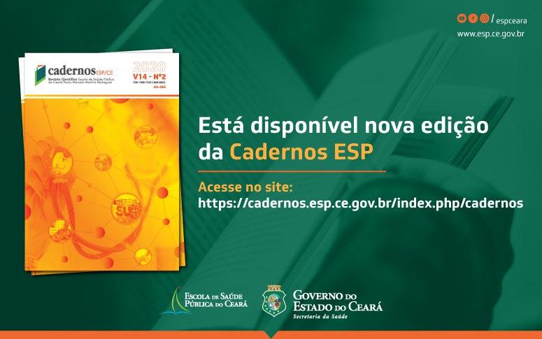 Novo volume da Cadernos ESP já encontra-se disponível