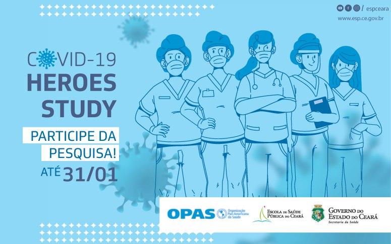 Primeira etapa de estudo que avalia impactos da pandemia na saúde mental de trabalhadores da saúde segue até 31/01