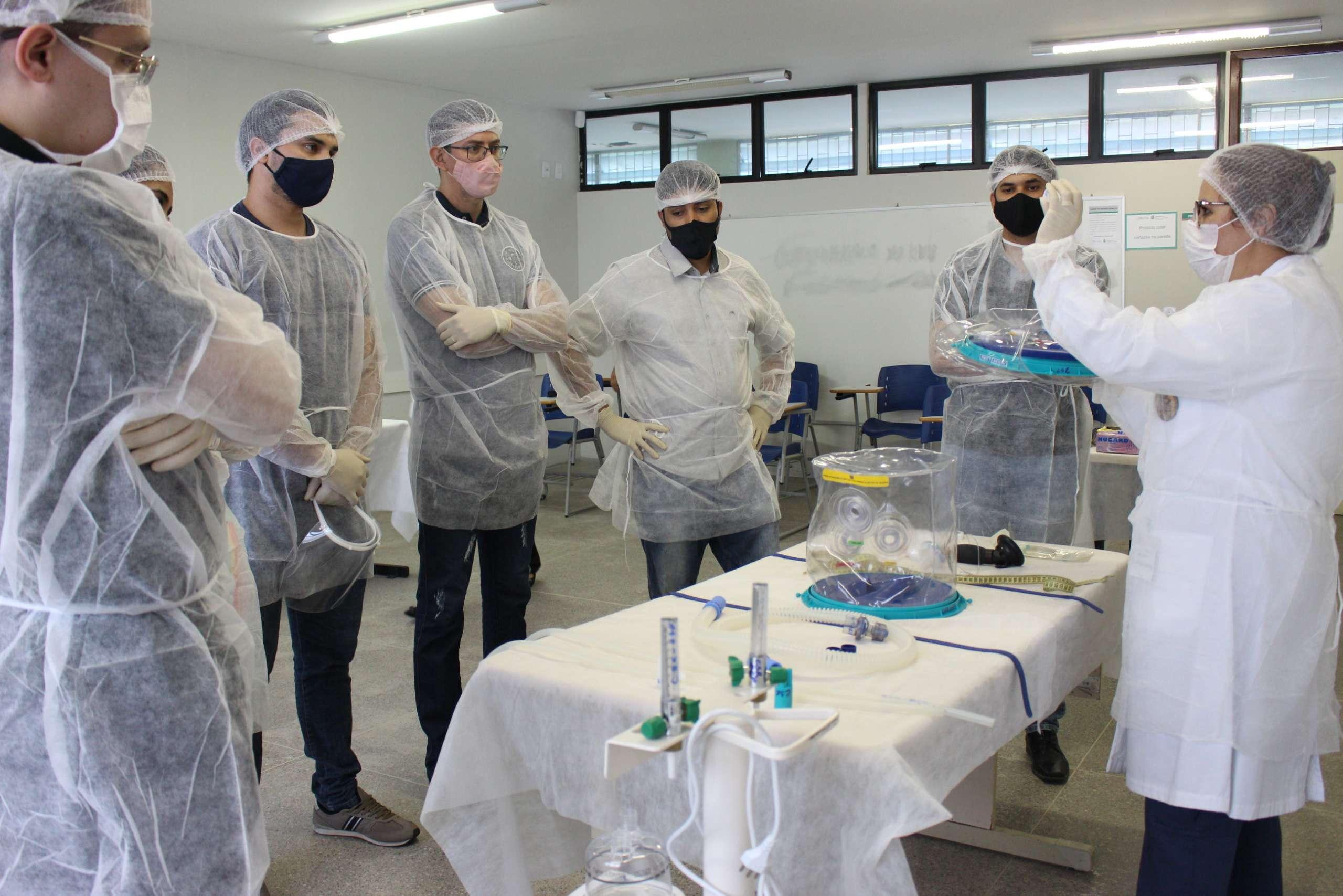 Capacete Elmo: treinamento é iniciado para equipes do interior do Ceará