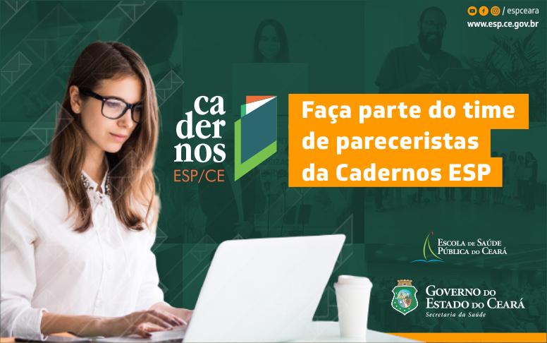 Cadernos ESP lança chamada para novos pareceristas