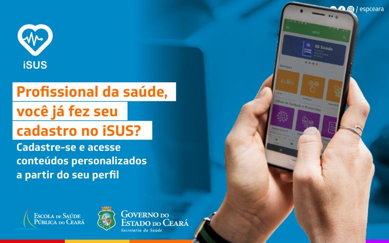 iSUS: profissionais de saúde têm acesso a conteúdo personalizado, como notas técnicas e boletins