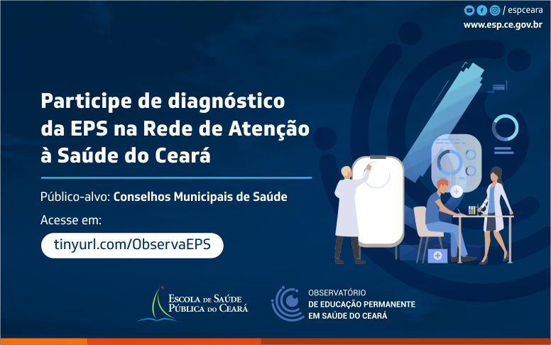 ObservaEPS convoca municípios para pesquisa sobre Educação Permanente em Saúde