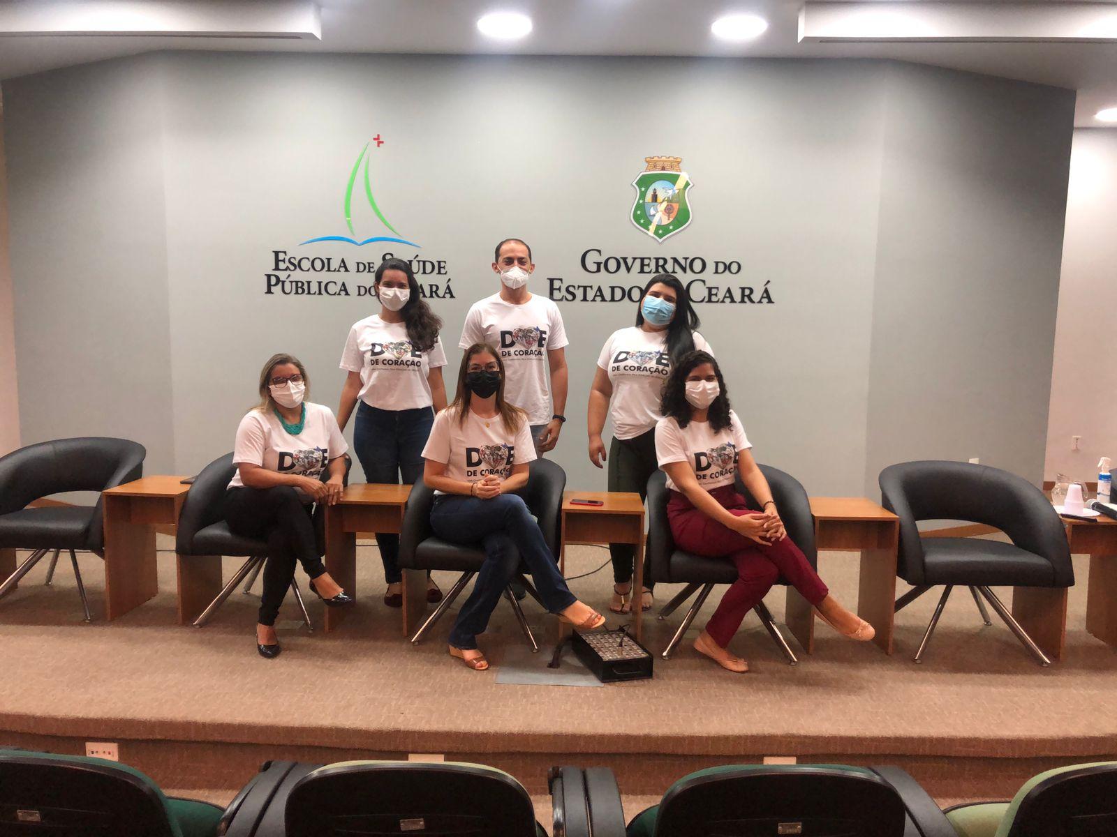 Saúde do Ceará conclui turma sobre financiamento do processo de doação de órgãos